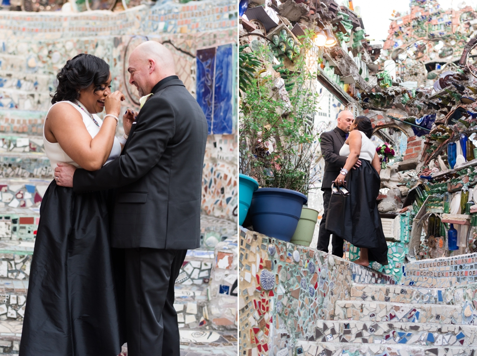 Philadelphia Magic Gardens Elopement Photographer - South Street Wedding