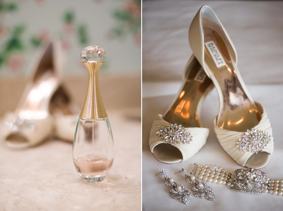 Destination Wedding in Williamsburg VA - Two Rivers Country Club Bridal Prep