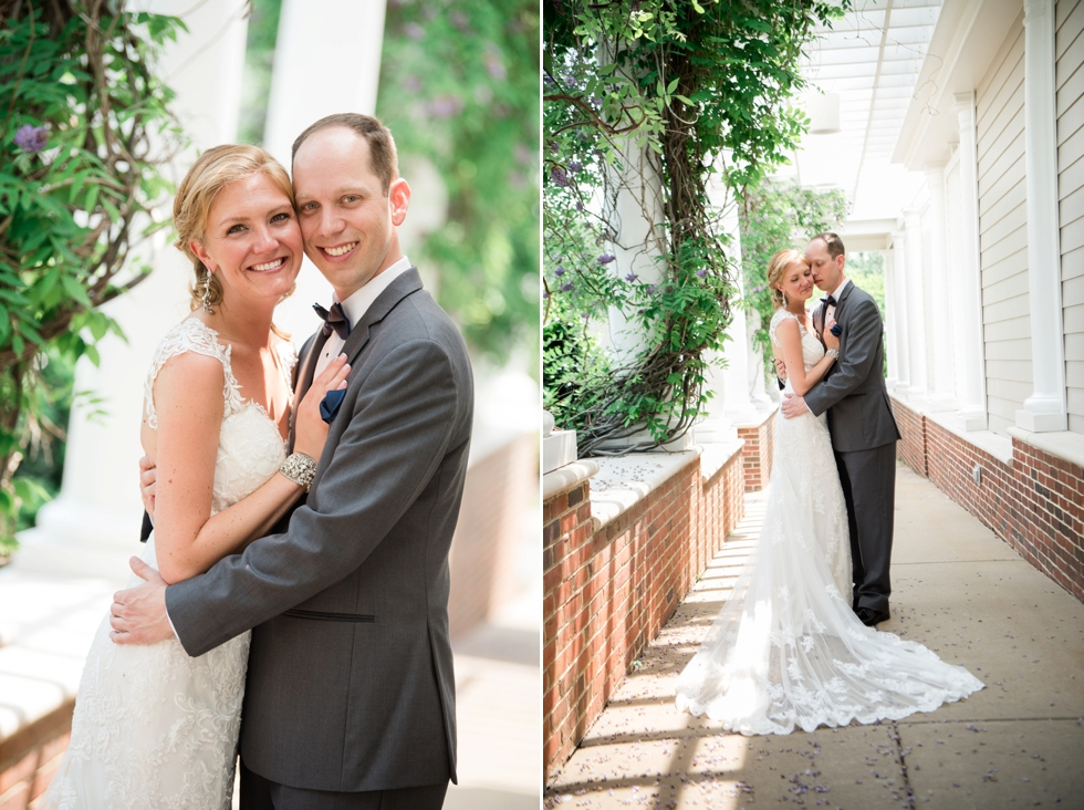 Destination Wedding in Williamsburg VA - Two Rivers Country Club Wedding First Look
