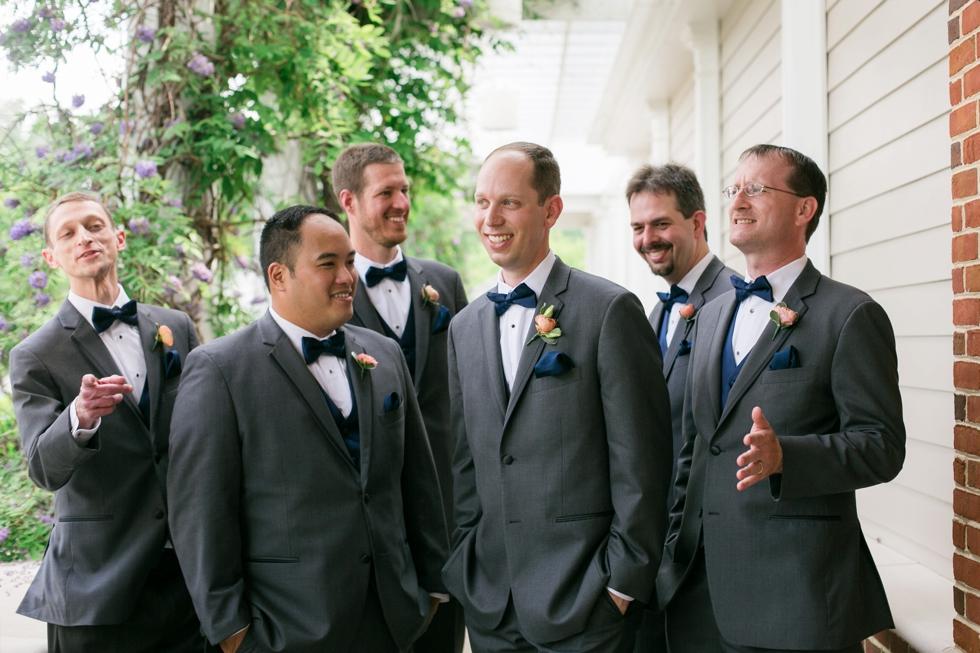 Destination Wedding Photographer - Williamsburg VA Wedding Party