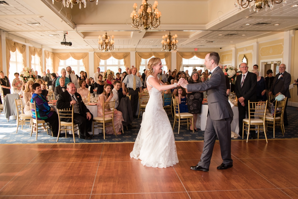 Destination Wedding Photographer in Williamsburg VA -Two Rivers Country Club First Dance
