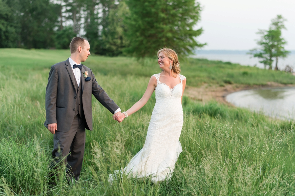 Destination Wedding Photographer - Two Rivers Country Club Williamsburg Wedding Party