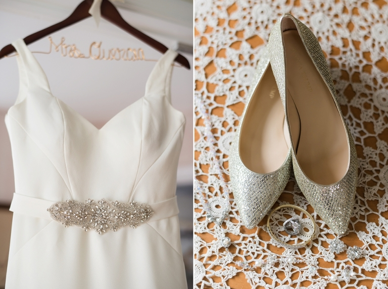 Wedding at Belvedere Hotel in Baltimore, MD - Essense of Australia Bridal Gown