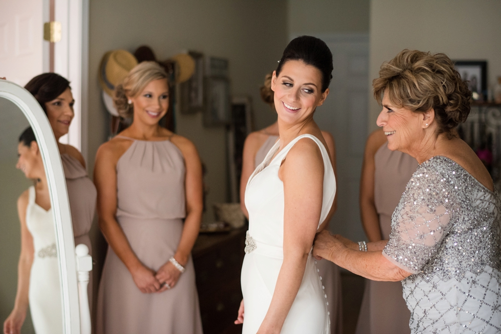 Bridal prep at Belvedere Wedding Photographs - Belvedere & Co Events