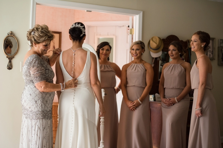 Bridal prep at Belvedere Wedding Photographs - Belvedere & Co Events