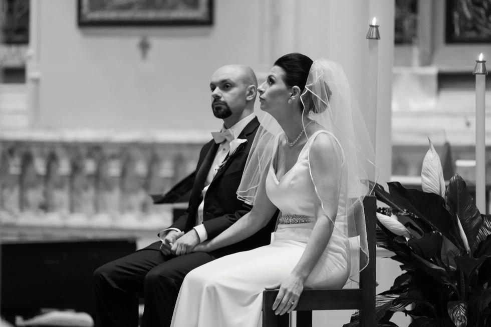 Philadelphia Church wedding - Corpus Christi Church Wedding Ceremony
