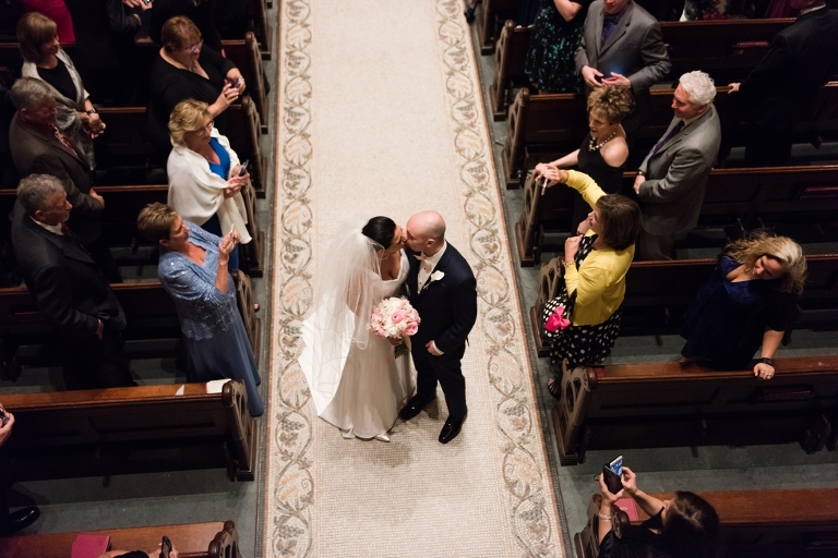Philadelphia Church wedding - Corpus Christi Church Wedding Ceremony