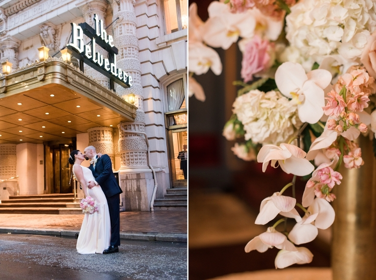 Wedding at Belvedere Hotel in Baltimore, MD - My Flower Box Events
