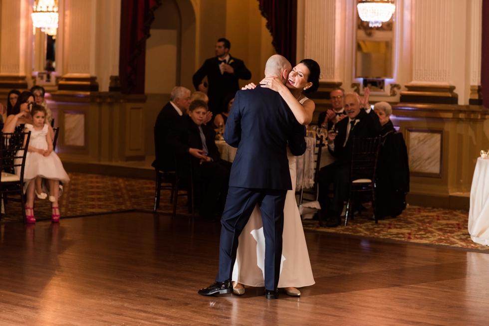 Traveling Philadelphia Wedding photographer -Belvedere & Co Events wedding reception 12th floor
