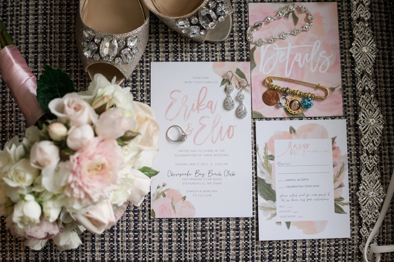 The Inn at the Chesapeake Bay Beach Club Wedding - Paper in the Park
