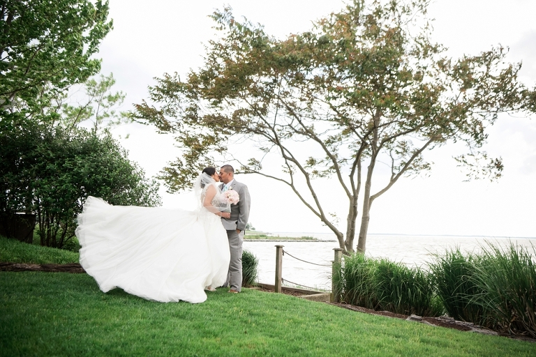 Chesapeake Bay Beach Club Wedding Photographers - Spring wedding