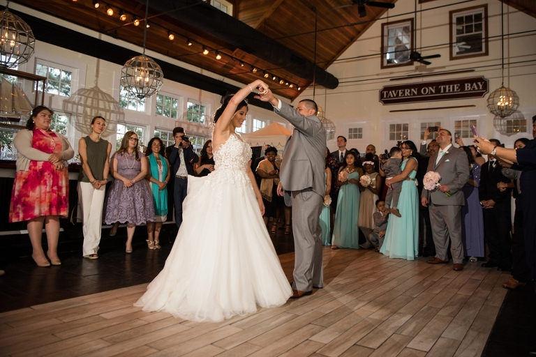 Chesapeake Bay Beach Club Wedding in Tavern Ballroom - First Dance