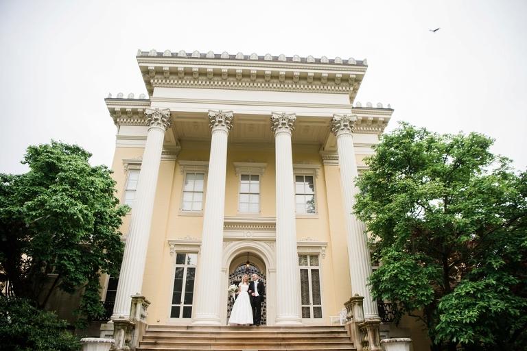 Evergreen Museum Wedding Photographs
