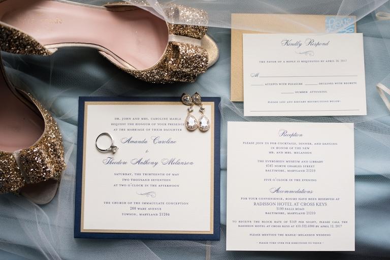 Evergreen Museum Wedding Photographs - Kindly RSVP Designs