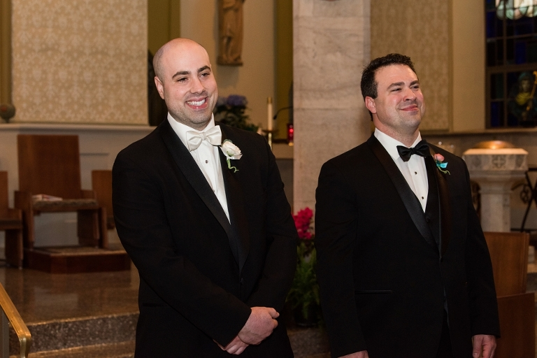 Towson Maryland Wedding Ceremony at Immaculate Conception Church