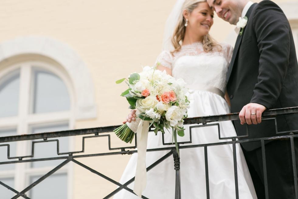 Evergreen Museum Wedding Photographs - Garnish Boutique