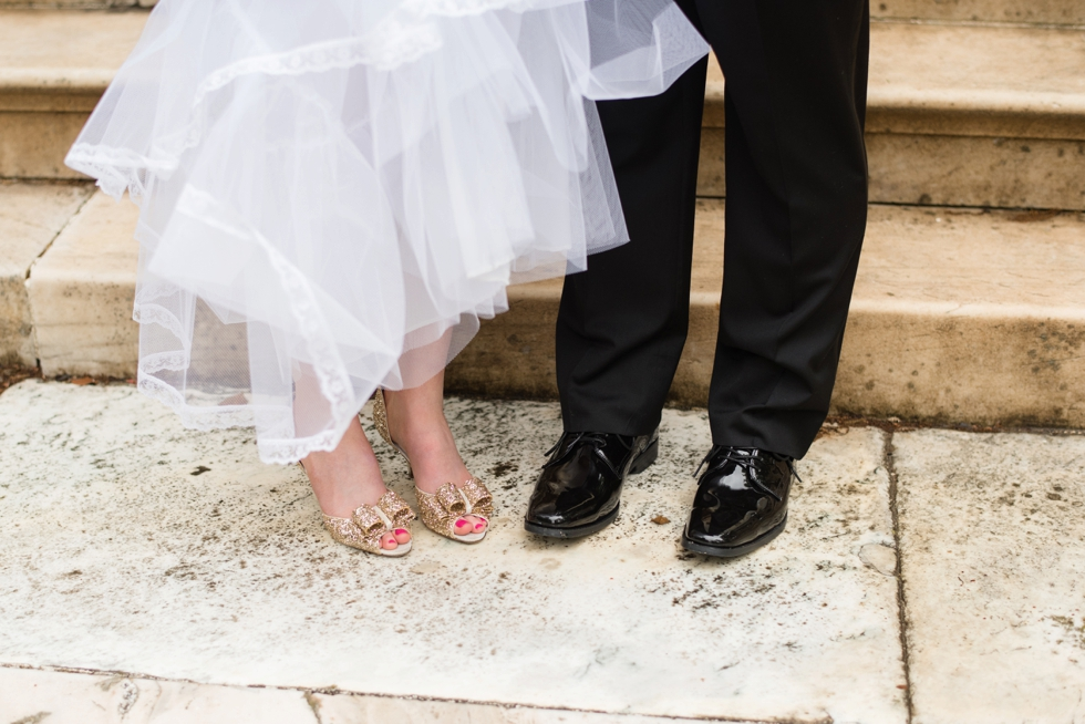 Evergreen Museum Wedding Photographs - Kate Spade