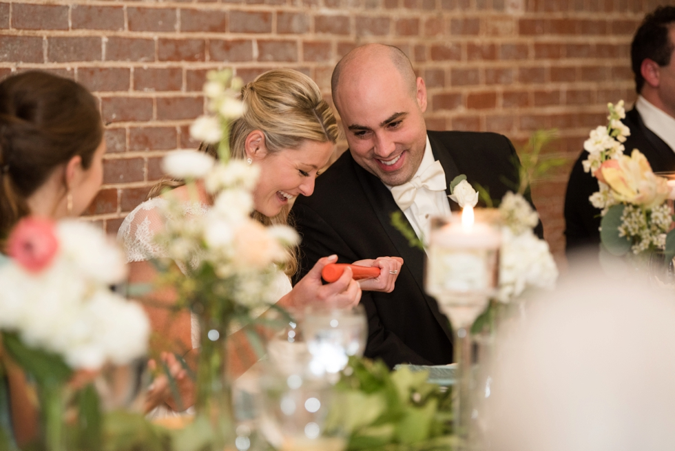 Baltimore Maryland Wedding Reception Toasts at Evergreen Museum