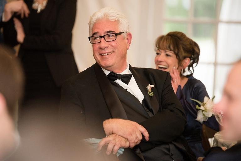 Baltimore Maryland Wedding Reception Toasts at Evergreen Museum