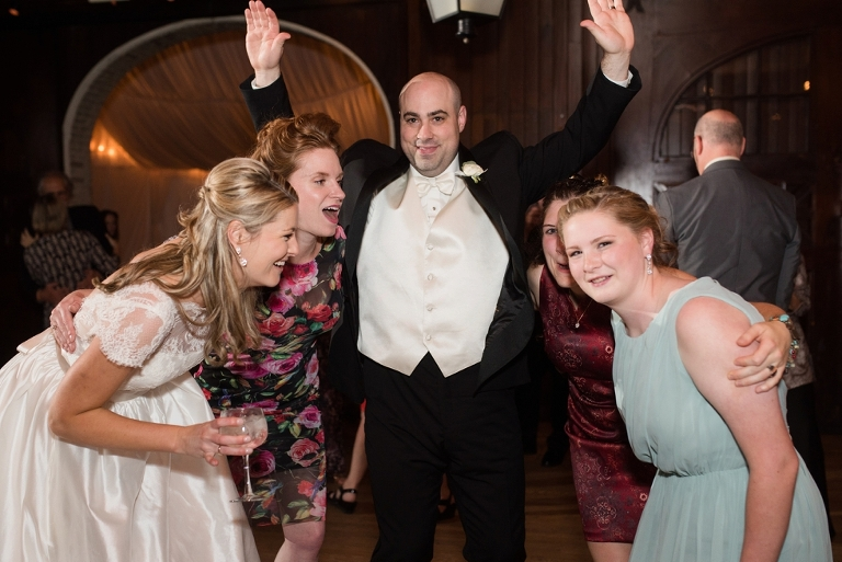 Carriage House Evergreen Museum Wedding Reception in Baltimore MD