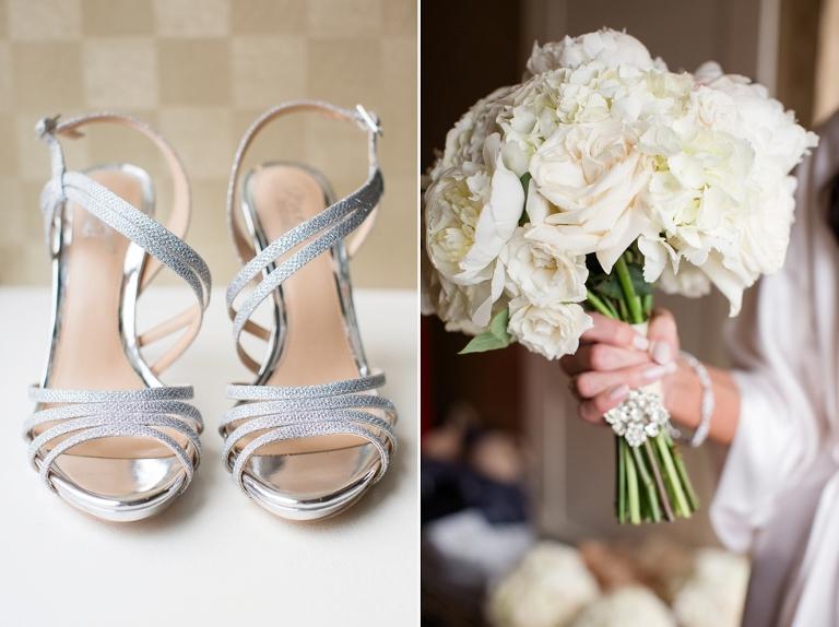 Hotel Monaco Wedding Photography - Madison James Bridal Gown