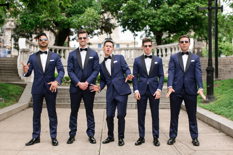Mount Vernon Wedding Photographers - Donovan England Tux
