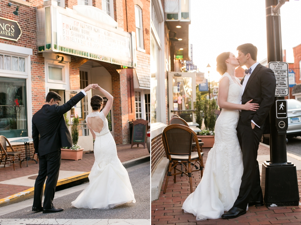 Tidewater Inn Gold Room Wedding Photographer in Easton maryland