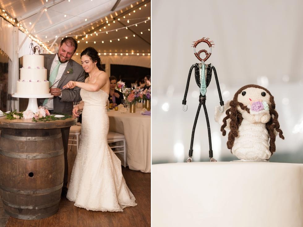 Nutmeg Cake Design - Sand Castle Winery Wedding Photographer