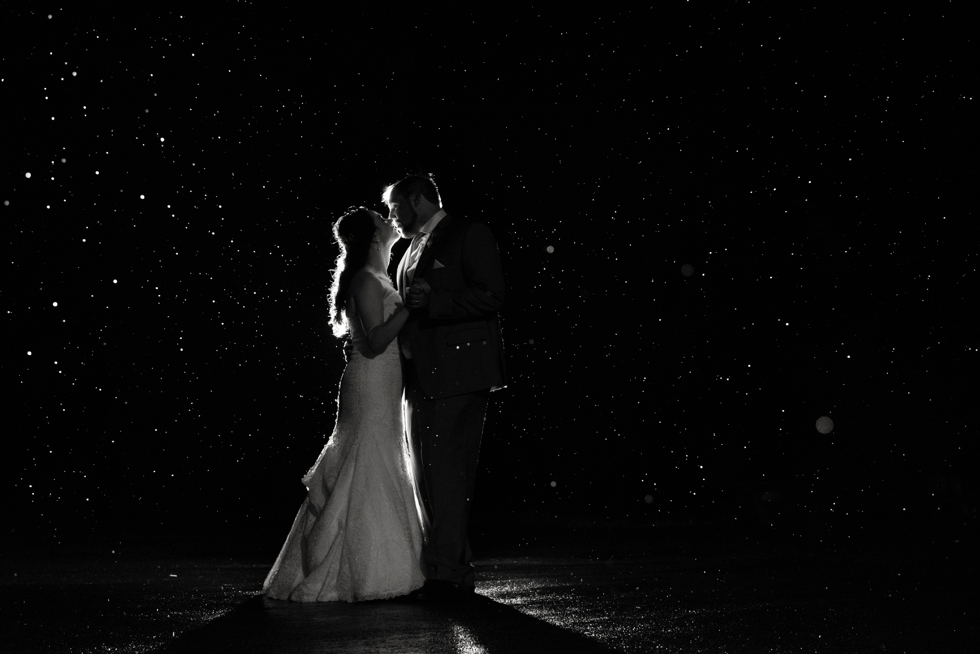 Sand Castle Winery Night Photo - Bucks County Wedding Photographer