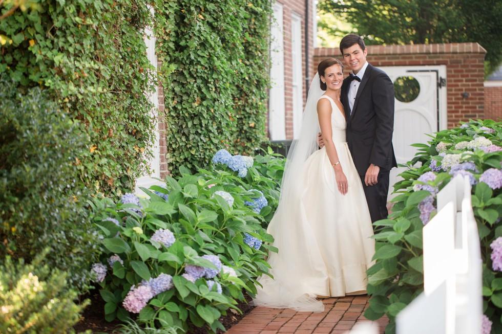 Wedding photo at Tidewater Inn Eastern Shore Maryland