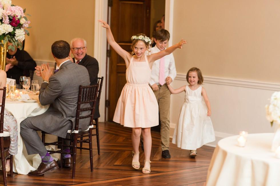 Wedding photo at Tidewater Inn Eastern Shore - Reception Entrance