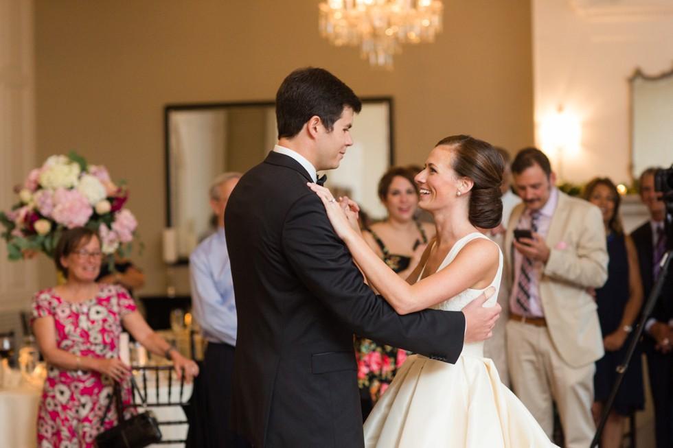 Wedding photo at Tidewater Inn Eastern Shore - Reception Newlywed First Dance