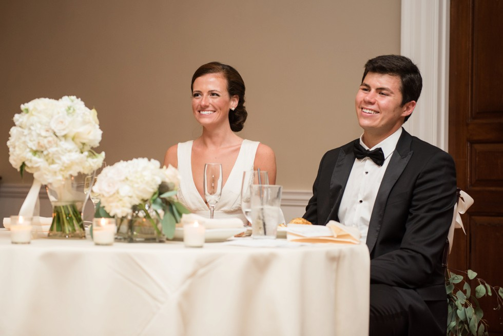 Wedding photo at Tidewater Inn Eastern Shore - Reception Toasts