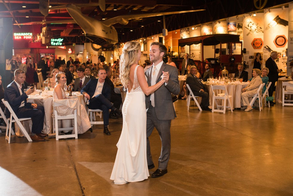 Newlyweds first dance at the BMi