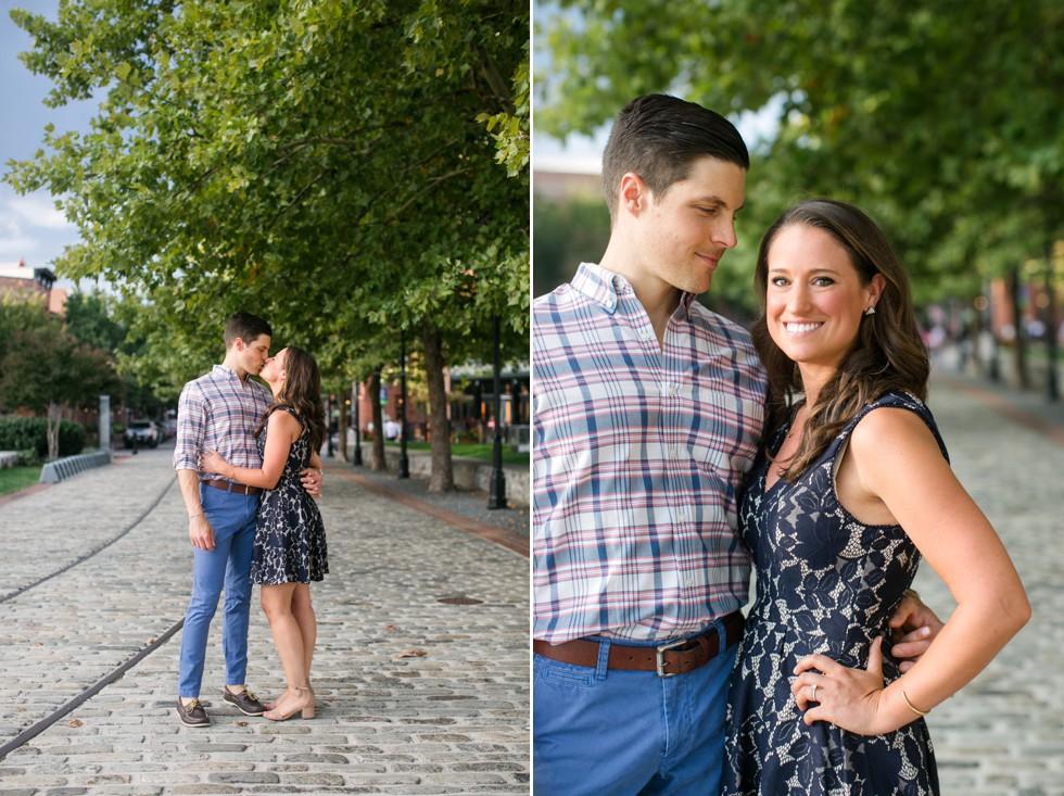 Summer engagement photos near Philadelphia