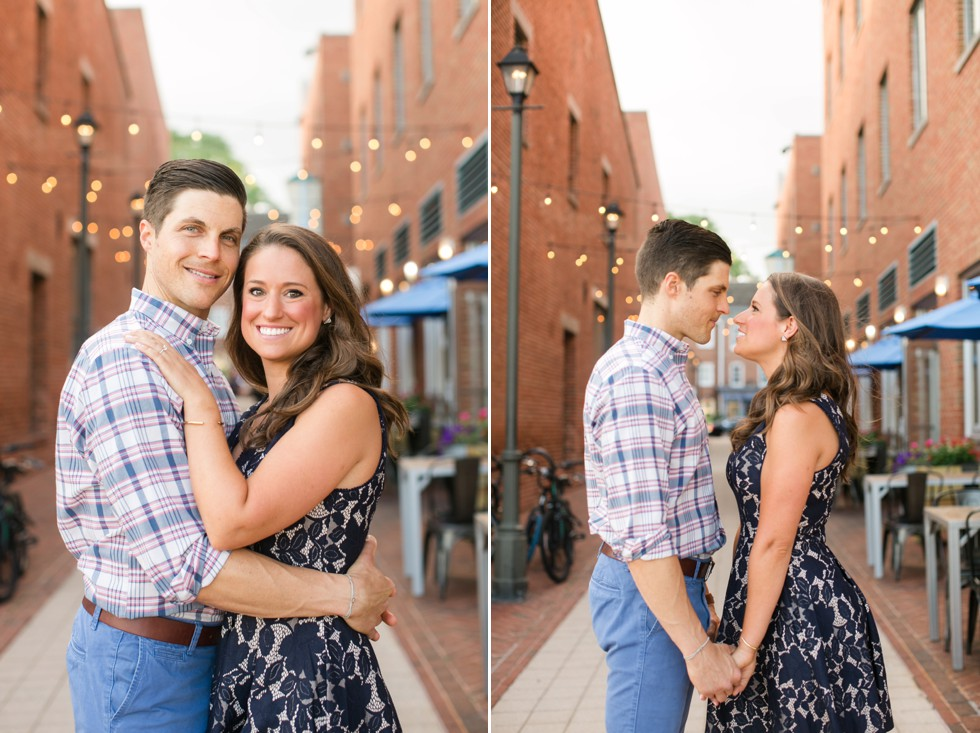 Sagamore Pendry fells point engagement session