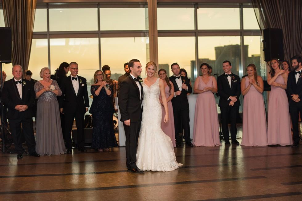 Couples first dance to Live band Clara Jordan Band Hank Lane