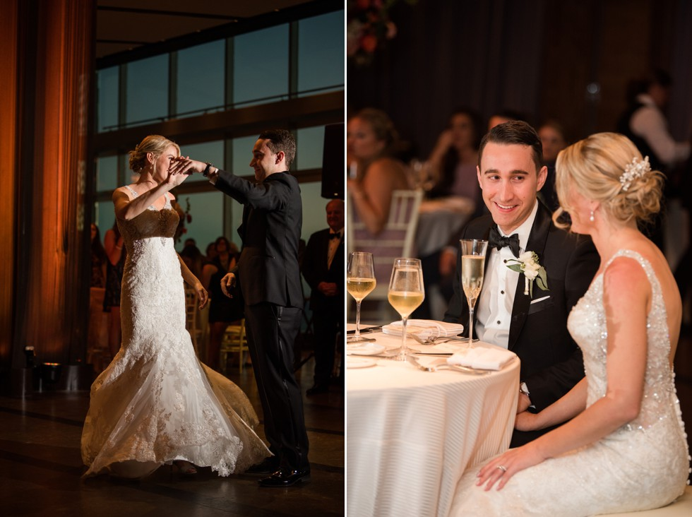 Couples first dance to Live band Clara Jordan Band Hank Lane at One Atlantic Events in ACNJ