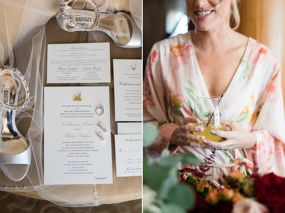 Sheraton Hotel Atlantic City New Jersey bridal prep
