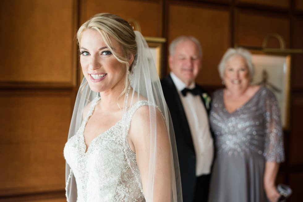 Bridal portraits at Sheraton Hotel Atlantic City New Jersey Wedding