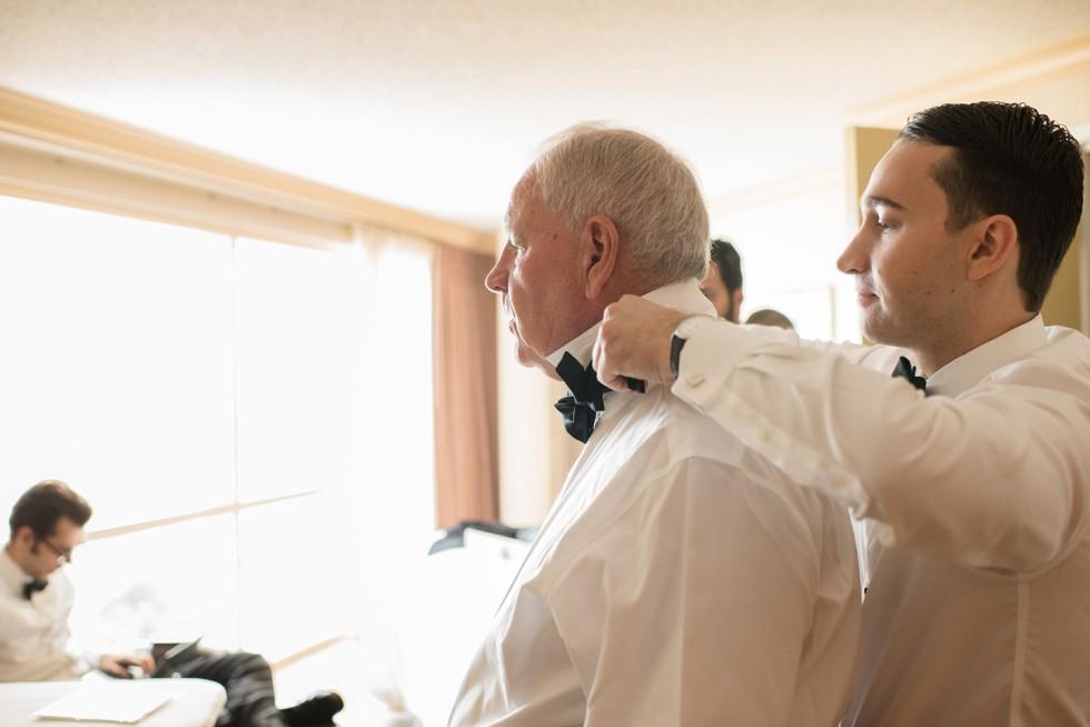 Sheraton Hotel Atlantic City New Jersey groom prep