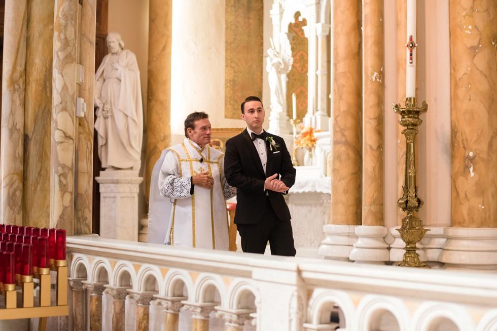 St Nicholas of Tolentine Atlantic City New Jersey Ceremony