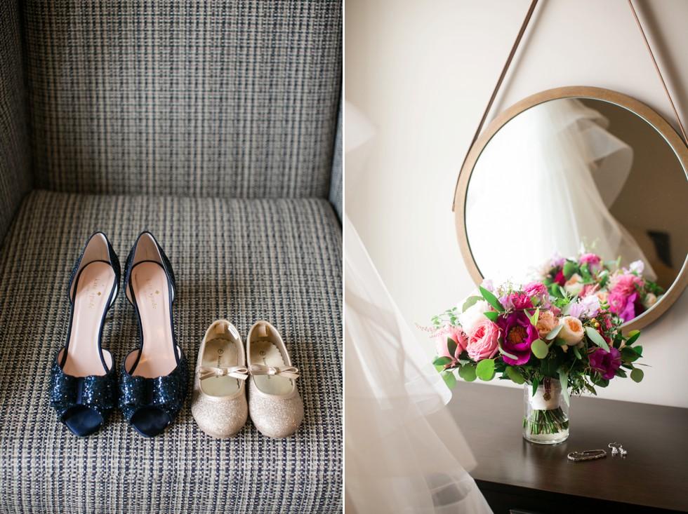 Bridal details at The Inn at the Chesapeake Bay Beach Club