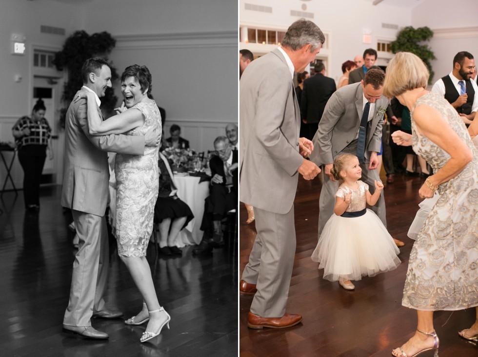 Mother son dance in the Beach House Ballroom at the Chesapeake Bay Beach Club