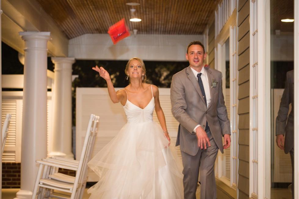 Chesapeake Bay Beach Club indoor wedding reception at the Beach House Ballroom