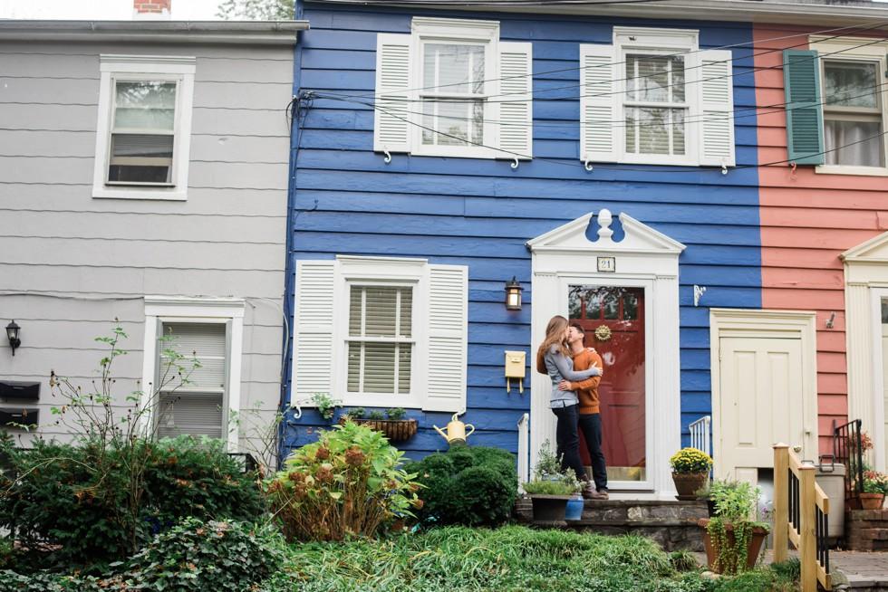 USNA Historic Annapolis Street Engagement photos
