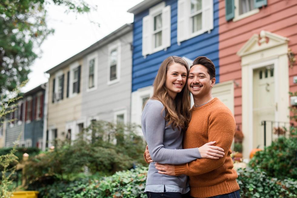 Historic Annapolis Street Engagement photos