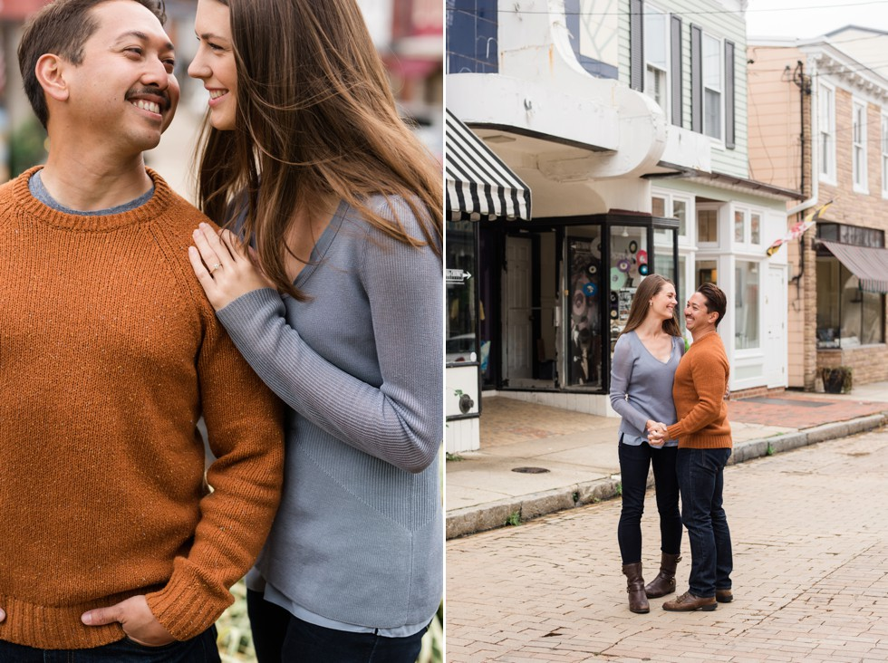 engagement photos at Historic Inns of Annapolis