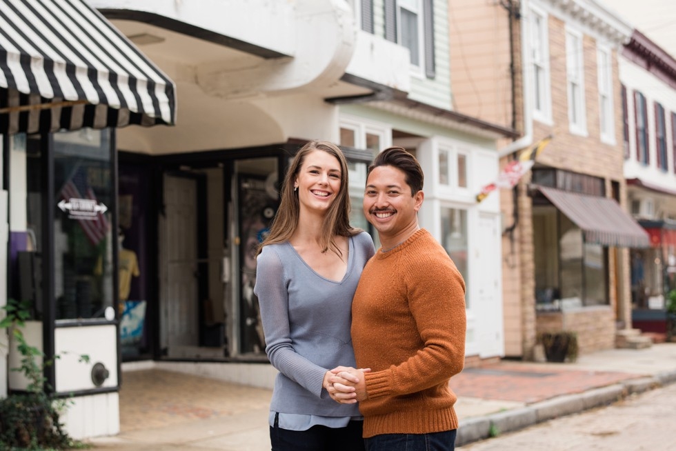 Historic Inns of Annapolis engagement and wedding photos