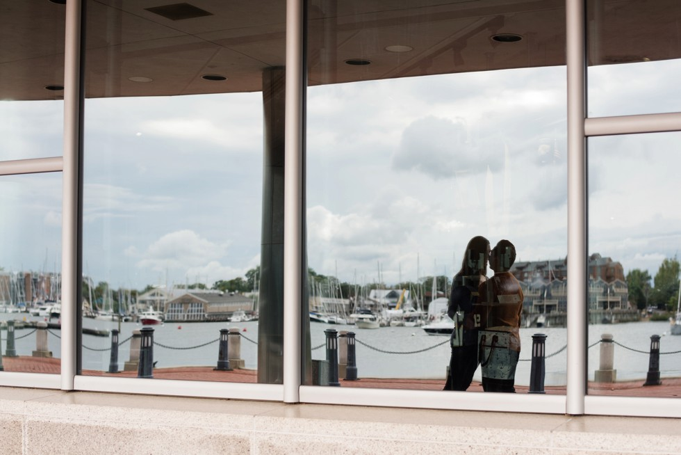 US Naval Academy Engagement photos in Annapolis